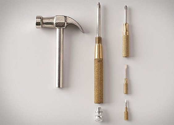 Hammer Screwdriver Combination Tool | Uncrate