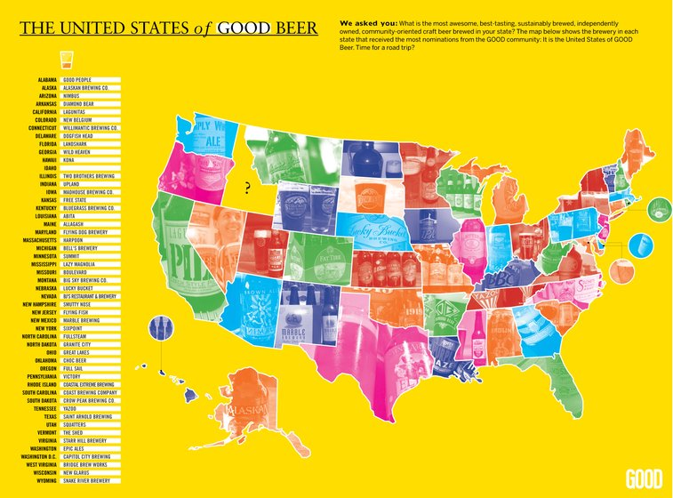 GOOD.is | The United States of GOOD Beer (Raw Image)