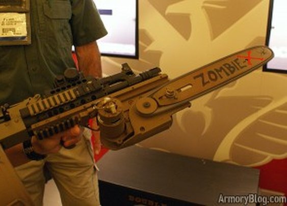 Doublestar Zombie X Chainsaw Rail Attachment  | Armory Blog