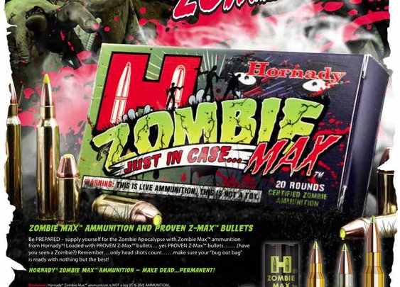 The Firearm Blog » Hornady Zombie Max