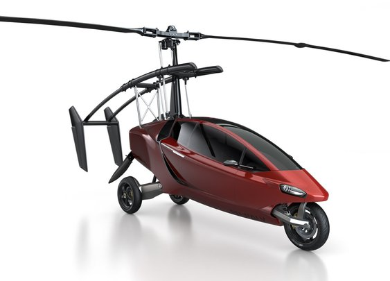 PAL-V ONE: Hybrid Car / Gyroplane