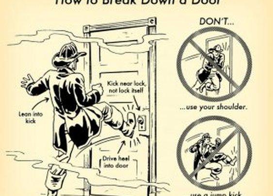 HOW TO BREAK DOWN A DOOR | MonkeyBait.com