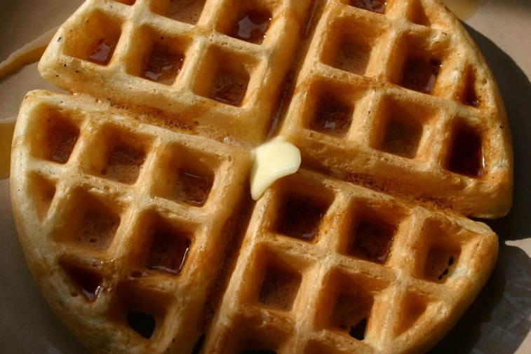Crispy Seltzer Waffles   The Wicked (awesome) Whisk
