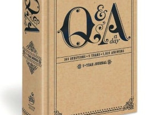 Q&A; A Day 5 Year Journal
