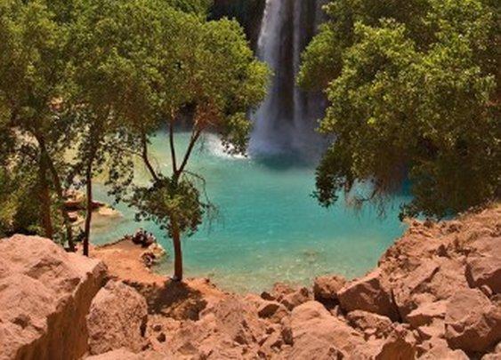 Havasu Falls, Arizona - waterfalls