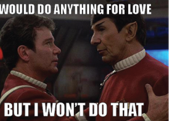 Would do anything for love…
