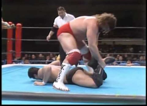 Antonio Inoki & Nobuhiko Takada vs. Steve 'Dr. Death' Williams & Owen Hart