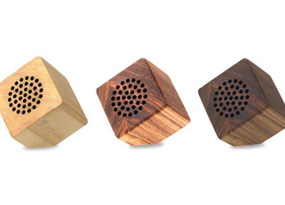 Wooden Portable Speakers