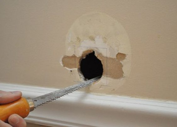 How to Patch a Hole in Your Drywall | The Art of Manliness