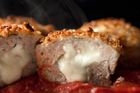 Chicken Parmesan Meatloaf Muffins Recipe - CHOW