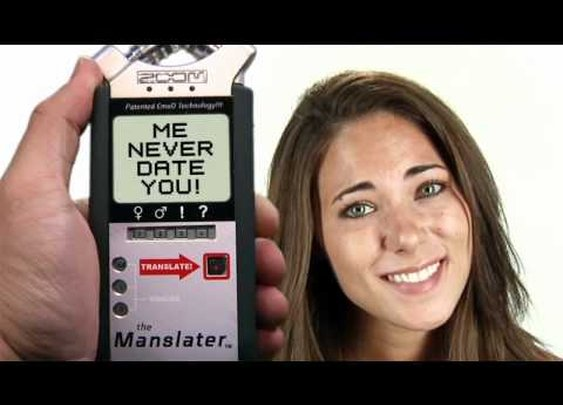The Manslater: (Woman Language Translator)      - YouTube