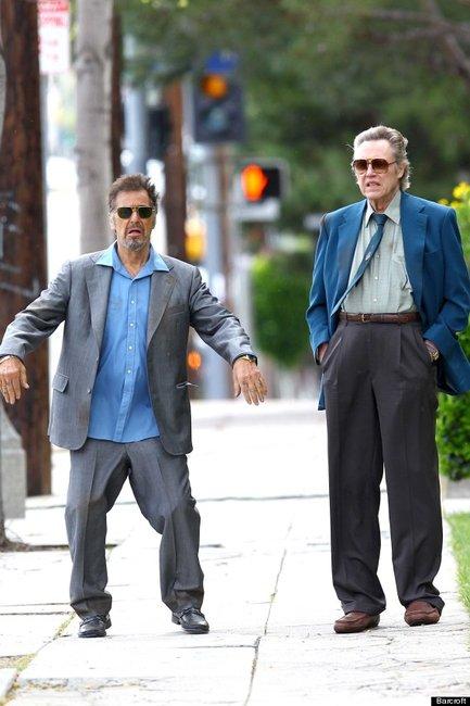Al Pacino and Christopher Walken