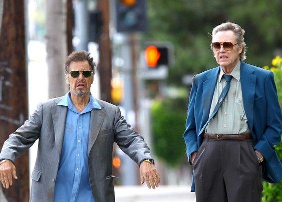 Al Pacino and Christopher Walken