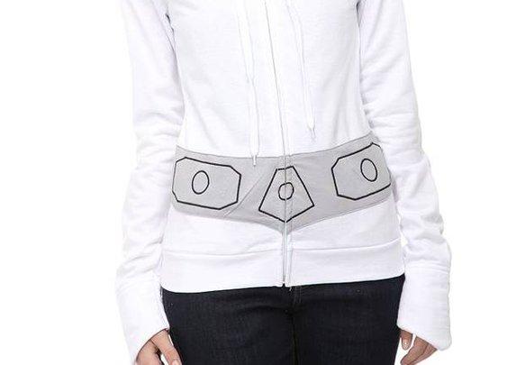Princess Leia hoodie with sidebuns - Boing Boing