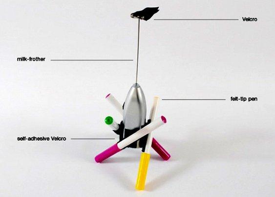 Make Your Own Drawbot  Lorenzo Bravi  | Apartment Therapy