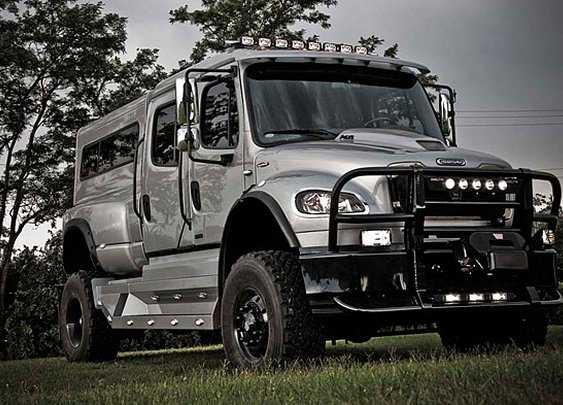 P4XL, when your standard truck isn't enough.