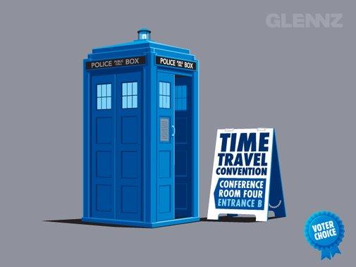 Time Travel Convention - A Glennz Tees Original T-Shirt