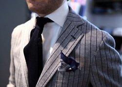 Cotton and linen stripes jacket