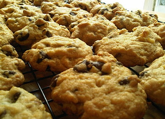 Oasis in a Gastronomic Wasteland: Recipes - Jack Daniels Chocolate Chip Cookies