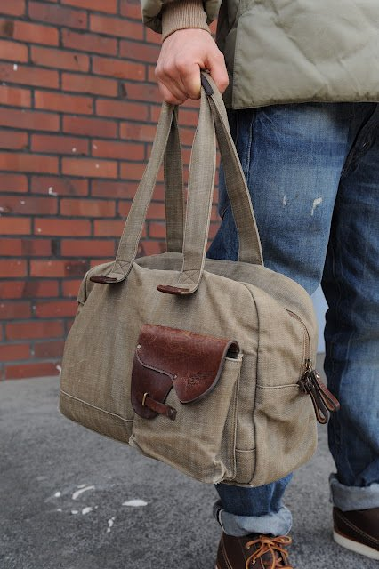 Red Wing Denim Bag made in Japan