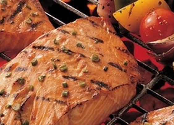 Barbecue Salmon Steaks