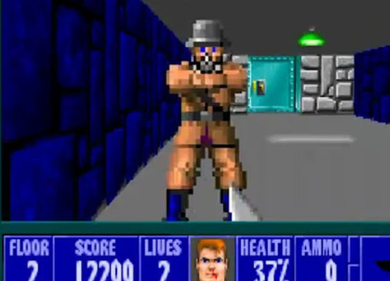 'Wolfenstein 3D' Released as Free Web Browser Game