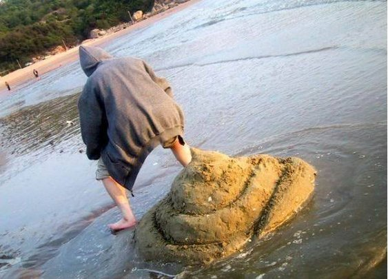 Giant Sand Poop