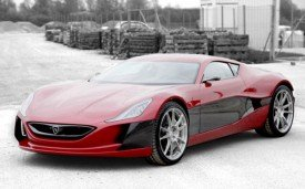Rimac Concept_One Supercar Silences Doubters With Some Tire Shredding