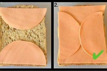 Simple, Life-Changing Tip Creates Perfect Sandwich Ratio