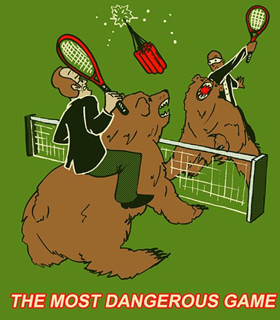 SMBC — The Most Dangerous Game - Gentlemint