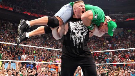 Brock Lesnar and the W.W.E. : The New Yorker