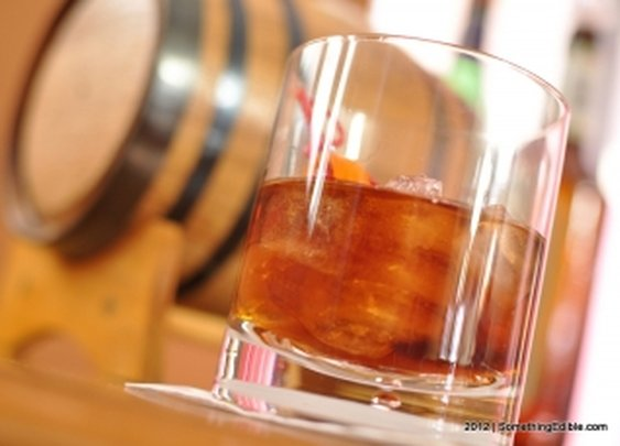 Let the Barrel be your Bartender: How to age a Manhattan.