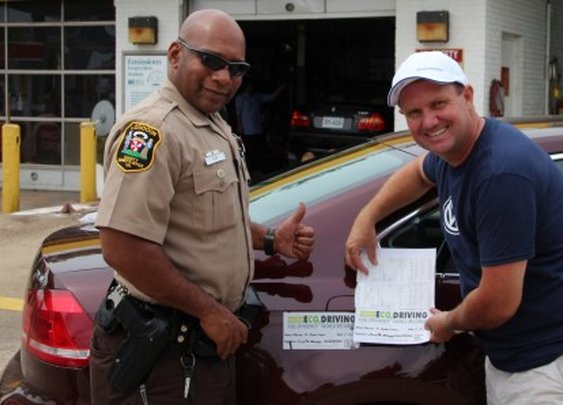World record 1,626 miles on one tank of diesel