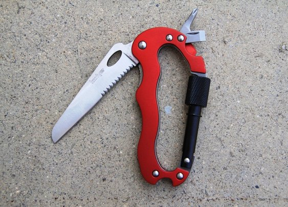 Kershaw 1004RD Carabiner Multi-Tool: Bargain Gear Review
