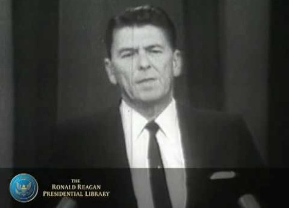 """""""A Time for Choosing"""" by Ronald Reagan      - YouTube"""