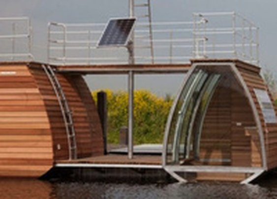 The House That Can Live on the Water or in the Trees