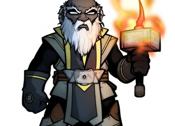 No Assembly Required: Thurl Bal'zud, Cleric of Laduguer @ The Id DM