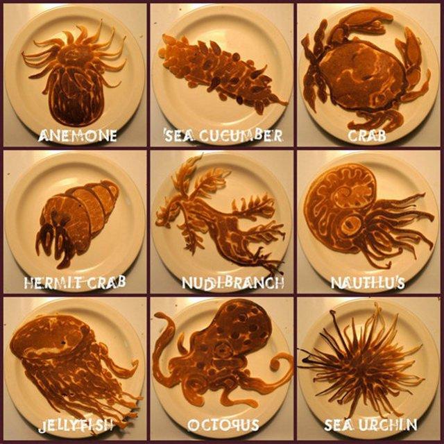 Pass The Syrup: Dad's Insane Pancake Art For Children | Geekologie