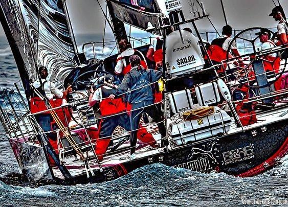 Puma Ocean racing wins Leg 6 of the Volvo Ocean Race!