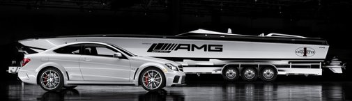 Cigarette Boat Inspired by Mercedes-Benz AMG Black Series | Nick Palermo, Freelance Auto Writer |Living Vroom