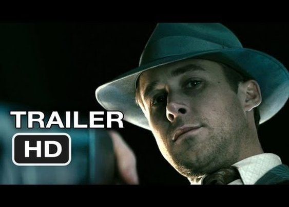 Gangster Squad Official Trailer #1 (2012) Ryan Gosling, Emma Stone Movie HD      - YouTube