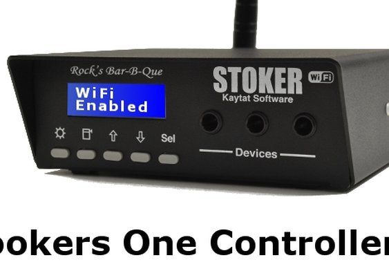 The Stoker - WiFi for my BBQ!