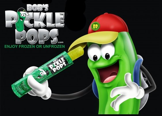The Pickle flavoured popcicle?