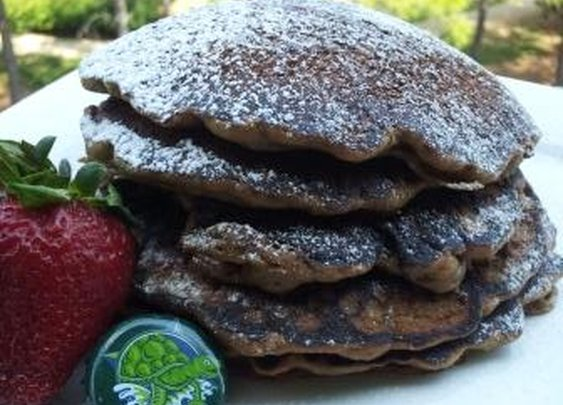 Oasis in a Gastronomic Wasteland: Recipe: Beer Pancakes (with Terrapin Moo-Hoo Chocolate Stout)