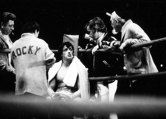 Behind the Scenes Photos from Rocky