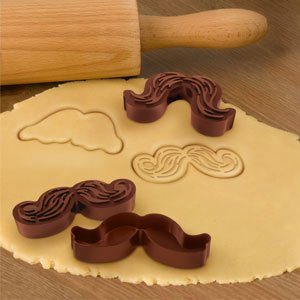 Munchstache - Mustache Cookie Cutters - The Green Head
