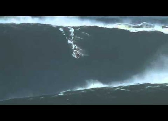 Video: The biggest wave ever surfed?