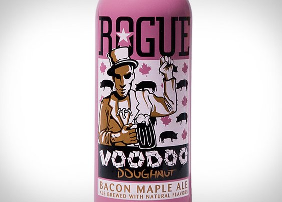 Rogue Voodoo Doughnut Bacon Maple Ale | Uncrate