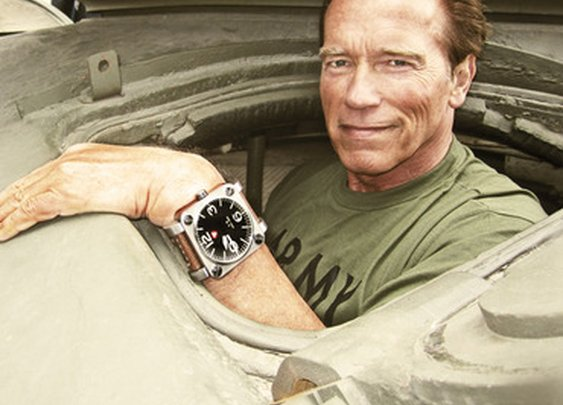 Gilt MAN Finds: Schwarzenegger Military Tank Watch & Marshall Humidor for Charity on Sale at Gilt