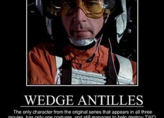Unsung Hero of Star Wars – Wedge Antilles